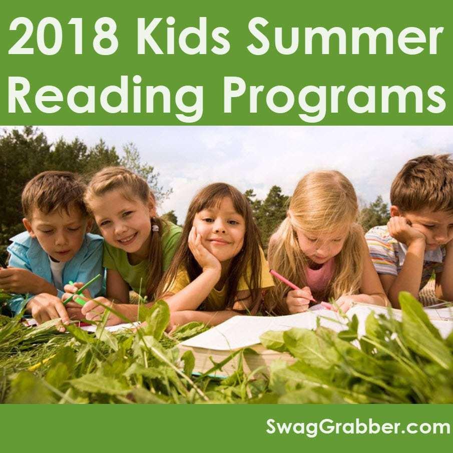 2018 Summer Reading Programs for Kids