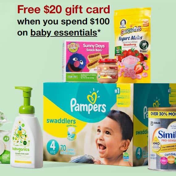 Baby Essentials Purchase