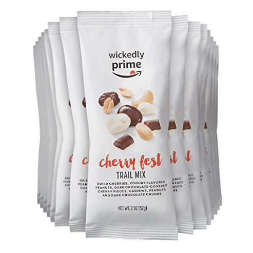 Wickedly Prime Trail Mix, Cherry Fest, Snack Pack, 2 Ounce (Pack of 15) Only $10.60