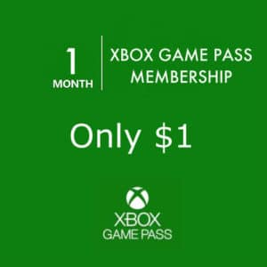 Xbox Game Pass ONLY $1.00