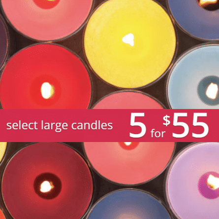 Large Yankee Candle Jar Candles 5 for $52 Shipped