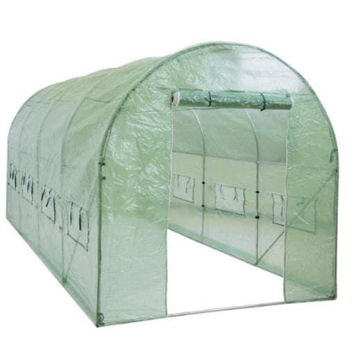 15'x7'x7' Larger Walk In Tunnel Greenhouse ONLY $99 Shipped (Was $250)