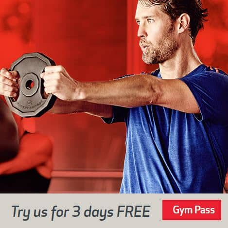FREE 3 Day Pass to 24 Hour Fitness