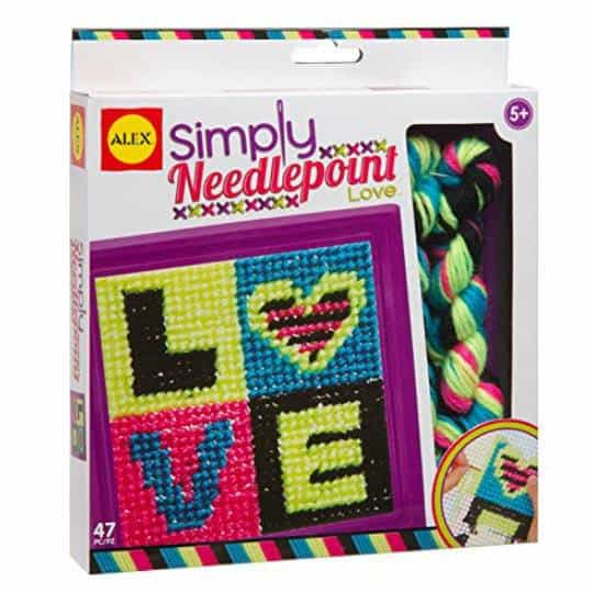 ALEX Toys Craft Simply Needlepoint Love Only $3.81 (Was $6.50)