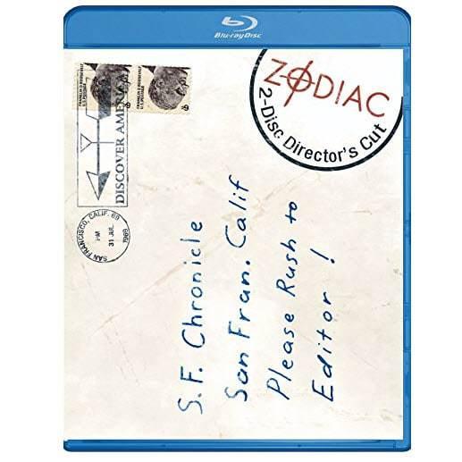 Zodiac Blu-ray Only $5.09