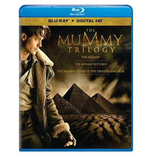 The Mummy Trilogy on Blu-ray $9.99