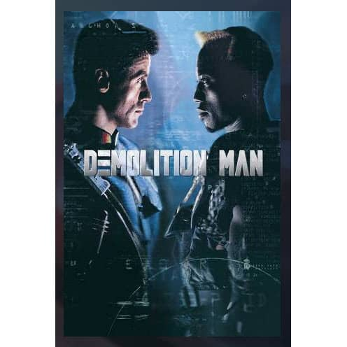 "Free ""Demolition Man"" Movie Rental From FandangoNow"
