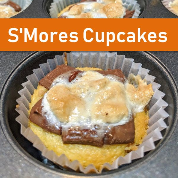 Super Yummy S'Mores Cupcakes
