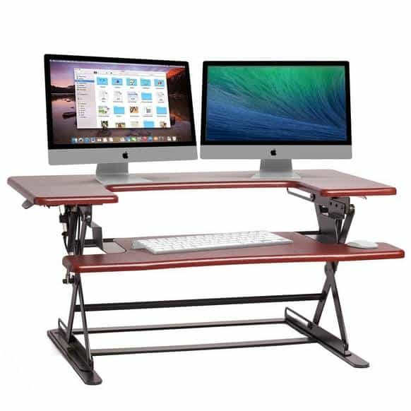Halter Height Adjustable Sit/Stand Desktop $110