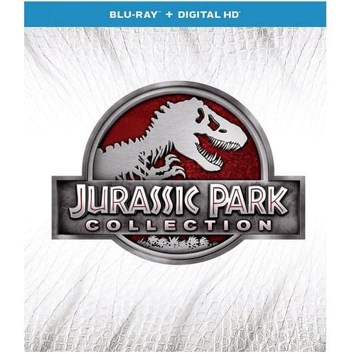 Jurassic Park Collection Only $19.99 - 4 Movies!