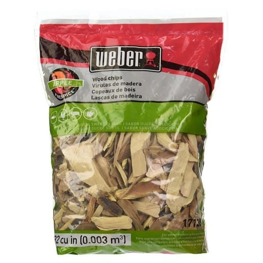 Weber Apple and Pecan Wood Chips Only $3.99