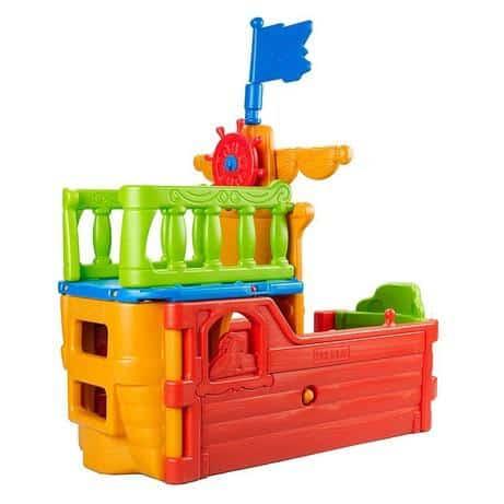 ECR4Kids Indoor/Outdoor Buccaneer Boat Play Structure $134.38 (Was $299)