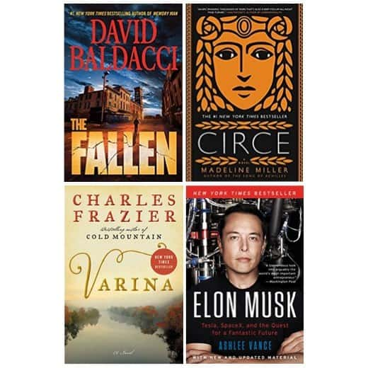 Up to 92% Off New York Times Best Sellers on Kindle **Today Only**