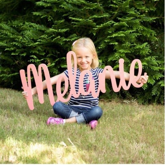 Huge Personalized Words & Names $29.99