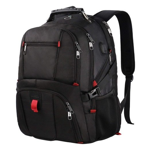 YOREPEK Extra Large Water-Resistant TSA Friendly Travel Computer Backpack Only $39.19 (Was $70) **Today Only**