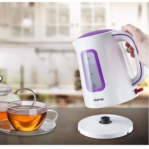Gourmia Supreme Electric Cordless Tea Kettle Only $12.74 **Today Only**
