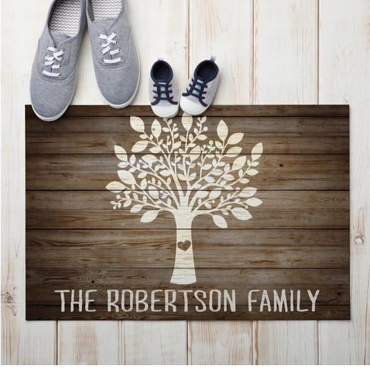 Personalized Doormats Only $13.99