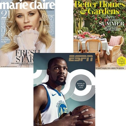 Up to 90% Off Best-Selling Magazines **Today Only**