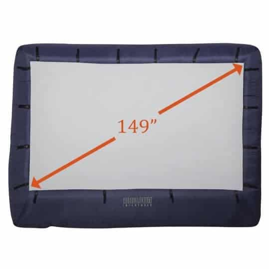 """Gemmy 149"""" Airblown Movie Screen with Storage Bag $126.99 **Today Only**"""