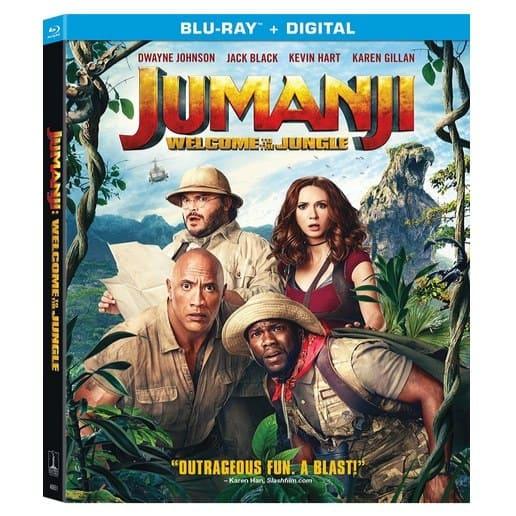 Jumanji: Welcome to the Jungle [Blu-ray] Only $4.96