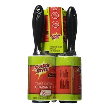 Scotch-Brite Lint Rollers 5-Pack Only $7.45