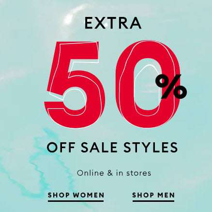 Extra 50% Off Banana Republic Clearance Items + Free Shipping