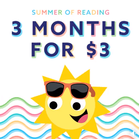 Epic! Membership ONLY $3 for 3 Month - Unlimited Kids Books & Videos