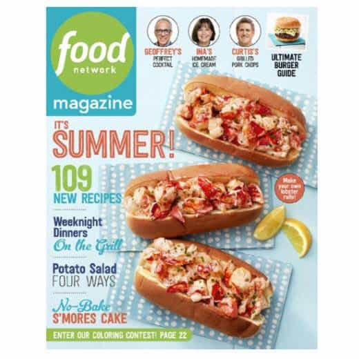 Food Network Magazine Subscription Deal | Only $7.95 Per Year