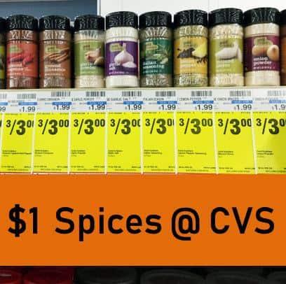 Snag $1 Spices at CVS This Week!