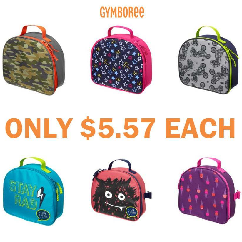 Gymboree: Kids Lunch Boxes Only $5.57 Each