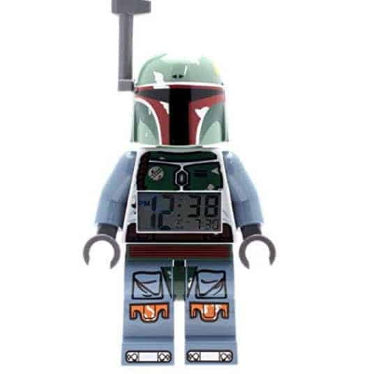 LEGO Star Wars Boba Fett Kids Minifigure Light Up Alarm Clock Only $15.25 (Was $29.99)