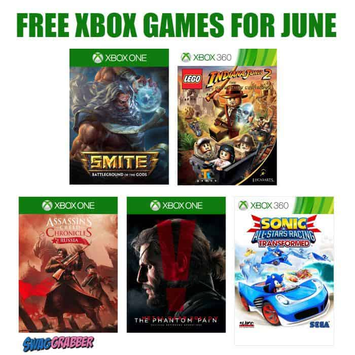 5 FREE Xbox Games Available for June