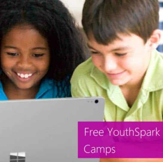 Microsoft Stores: Free Summer Camp Classes for Kids