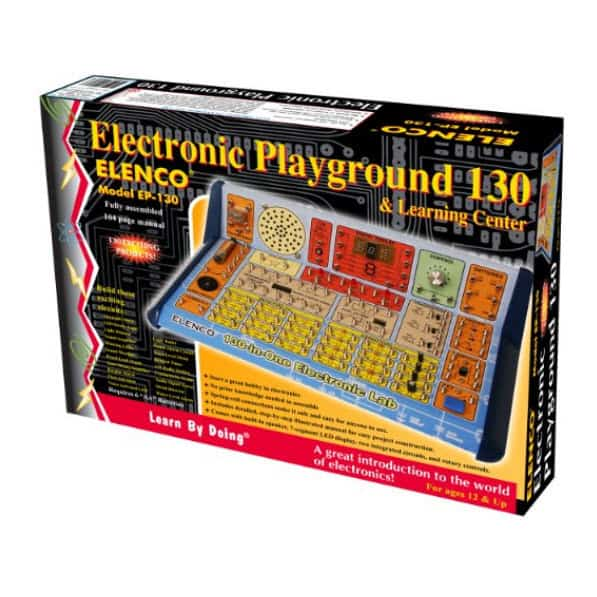 Elenco 130-in-1 Electronic Playground and Learning Center Only $34.99 (Was $49.99)