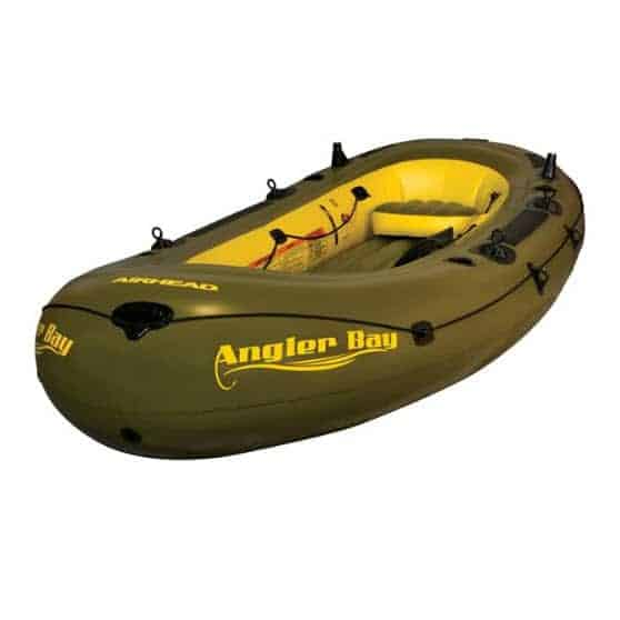 Airhead ANGLER BAY Inflatable Boat, 6 person Only $140.37 (Was $299.99)