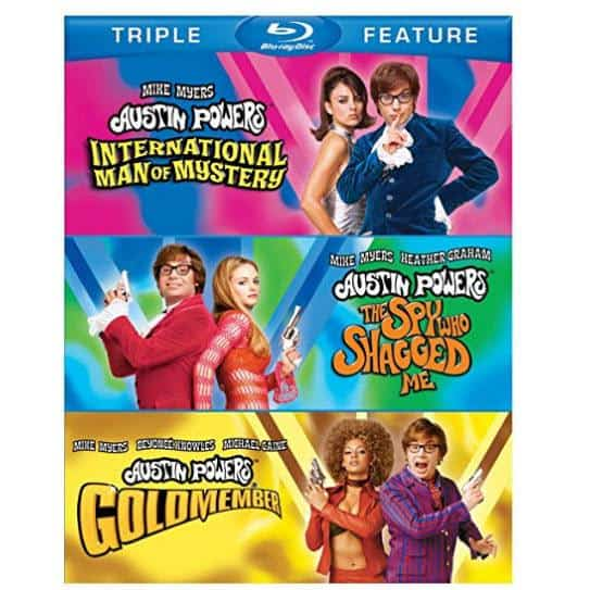 Austin Powers Triple Feature on Blu-ray Only $8