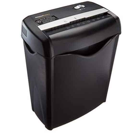 Prime Members: AmazonBasics Paper and Credit Card Shredder Only $23.99 (Was $29.99)