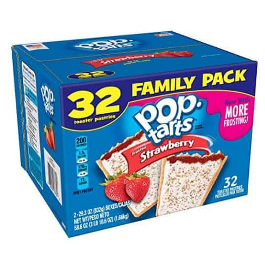 Pop-Tarts BreakfastToaster Pastries, Family Pack (32 Count) Only $5.97