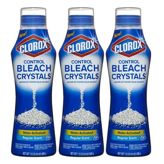 Clorox Control Bleach Crystals, Regular, 72 Ounce Bottle Only $6.55 (Was $12) #PrimeDay