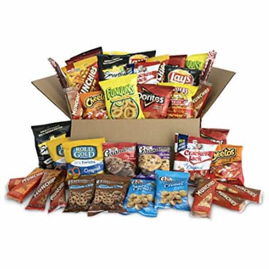 Ultimate Snack Care Package of Chips, Cookies, Crackers & More, 40 Count Only $13.99