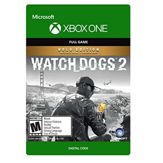 Watch Dogs 2 Gold Edition - Xbox One Digital Code Only $29.99 (Was $99.99)
