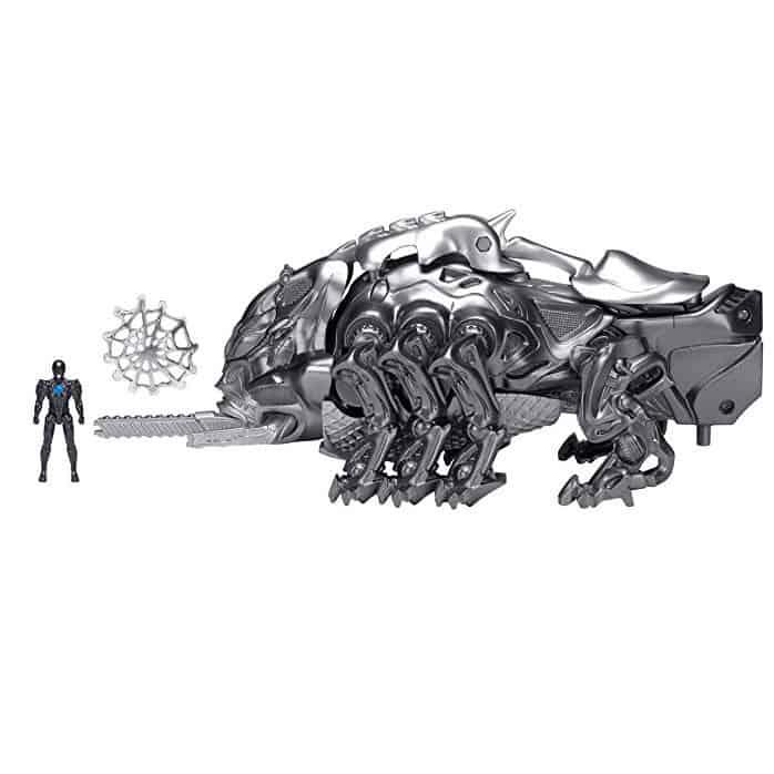 Power Rangers Movie Mastodon Battle Zord with Black Ranger Figure Only $5.25
