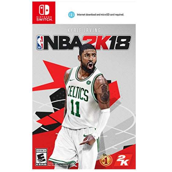 NBA 2K18 Standard Edition - Nintendo Switch Only $16.99 (Was $39.99)