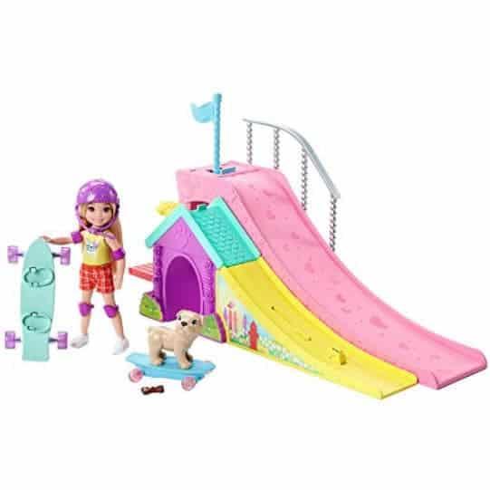 Barbie Club Chelsea Flips & Fun Skate Ramp Playset Only $12.97 (Was $24.99)