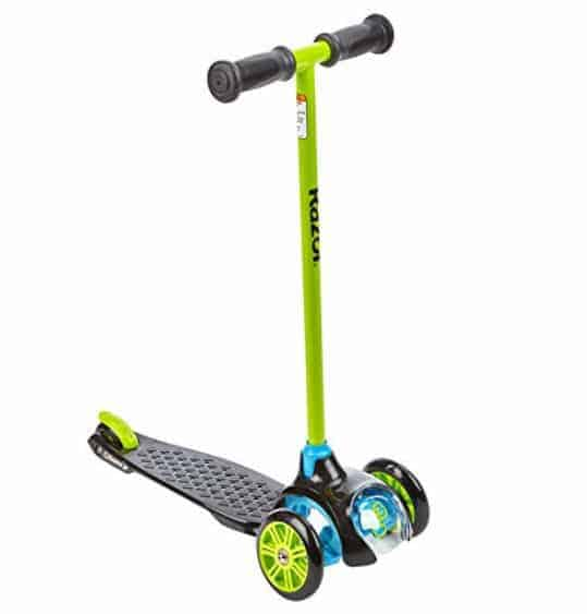 Razor Jr. T3 Scooter - Green Only $20.10 (Was $49.99)