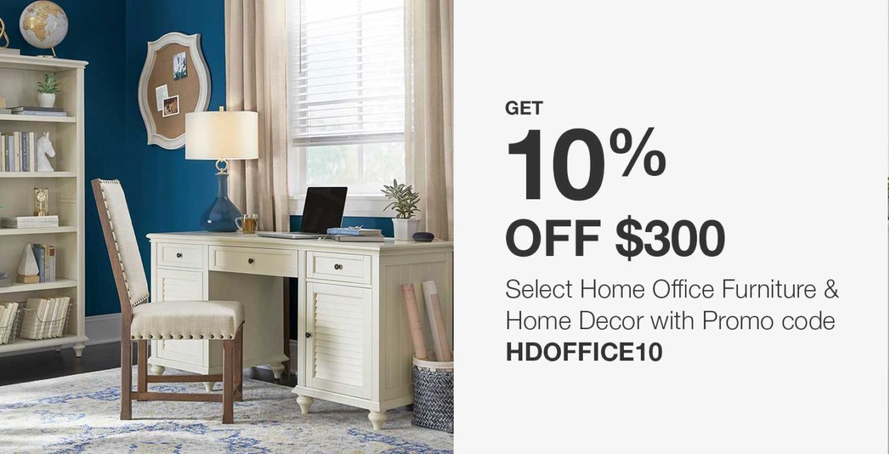 Home Depot Coupon Code | Extra 10% Off Furniture and Home Decor