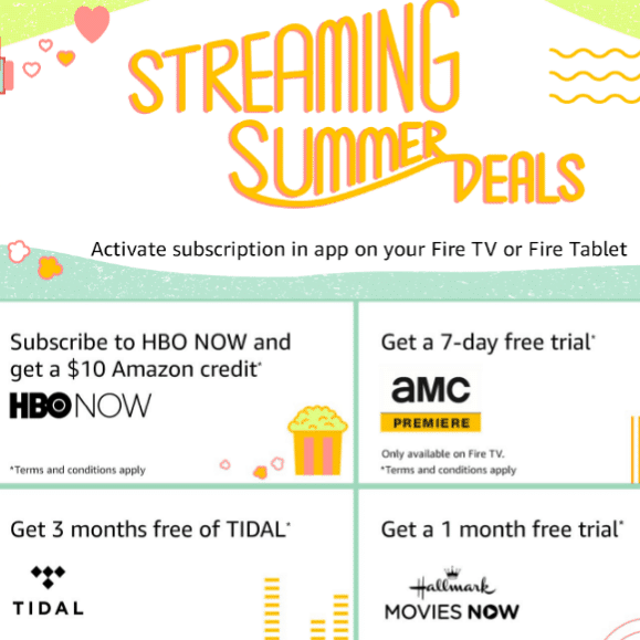 Amazon Streaming Summer Deals: FREE Showtime, AMC, HBO, and More!
