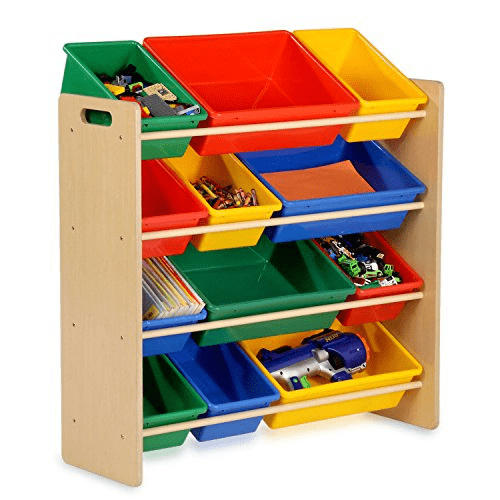 Honey-Can-Do Kids Toy Organizer and Storage Bins Only .99 (Was 0)
