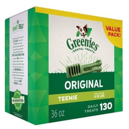 Up to 62% Off Greenies Dental Treats #PrimeDay