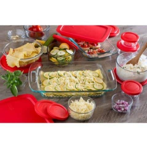 Pyrex Easy Grab 28-Piece Bake and Store Set Only $21.99